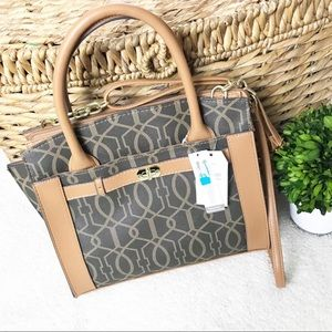 Time and true Tote Satchel Handbag NEW